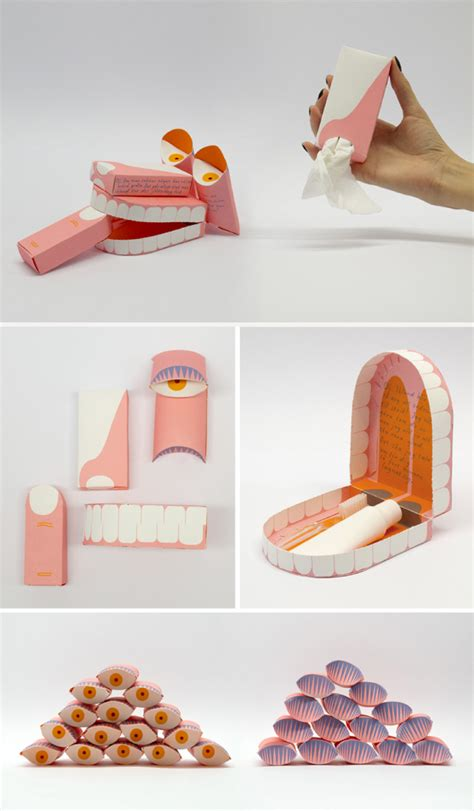 How To Make Vire Fangs With Paper - packaging designs that make you happy graphicloads