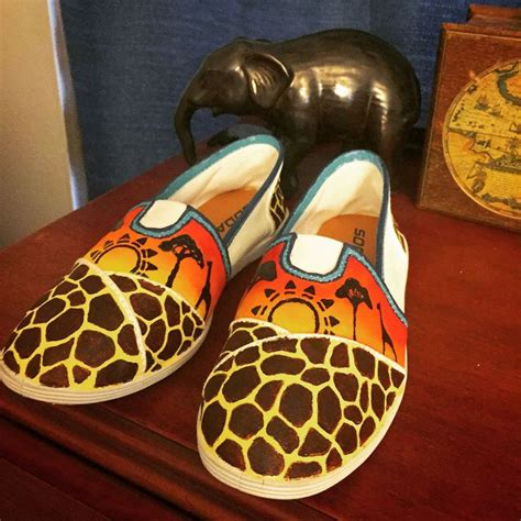acrylic paint for canvas shoes white canvas shoes painted with acrylic paint giraffe