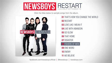 Cover Stop R New 1 newsboys restart album sler