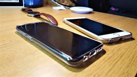 galaxy s8 vs iphone 6s plus screen and comparison