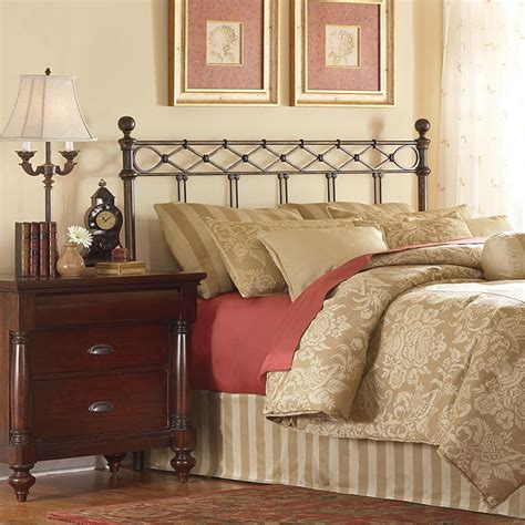 copper headboard fashion bed group argyle king size headboard with round