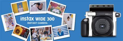 Fujifilm Instax Wide 300 Kamera Polaroid Garansi 1 Tahun jual fujifilm instax wide 300 toko instant