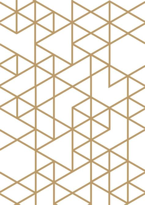triangle pattern wall triangle print gold triangle geometric print geometric