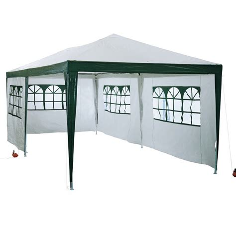 Buy Gazebo With Sides Buy Home Waterproof 3m X 6m Garden Gazebo With Side Panels