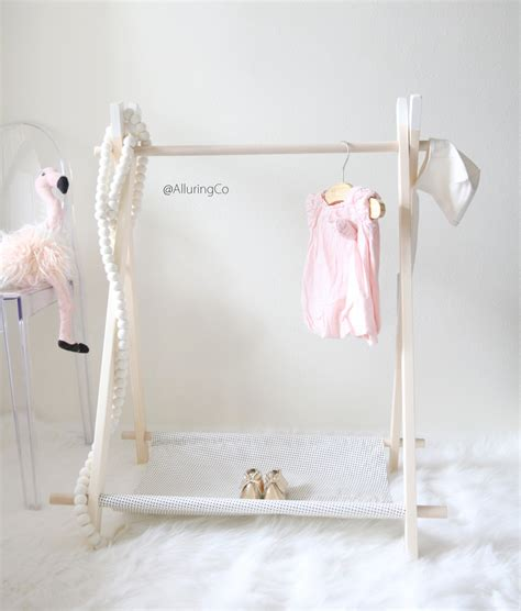 Clothes Rack Dress Up Clothes by Mini Children S Clothing Rack Mini Black Dots On White
