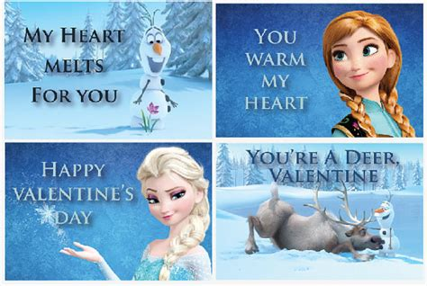 printable frozen valentines unavailable listing on etsy