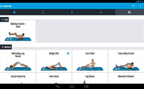 runtastic six pack abs workout trainer android apps on