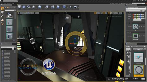 game mod unreal engine 4 stargate network already developed on unreal engine 4 news