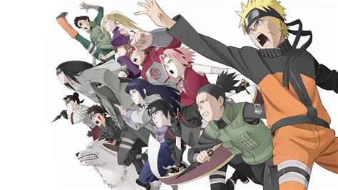 wallpaper hd anime terbaru naruto and friends anime hd wallpaper 14737 wallpaper