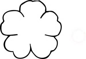 Template Of A Poppy by Stencil Of Poppy Flower Clipart Best