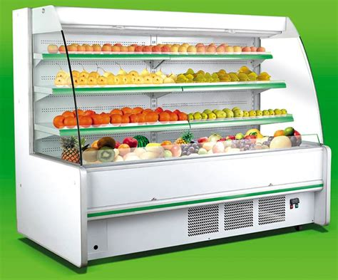 Showcase Freezer china fruit vegetable refrigerator supermarket display