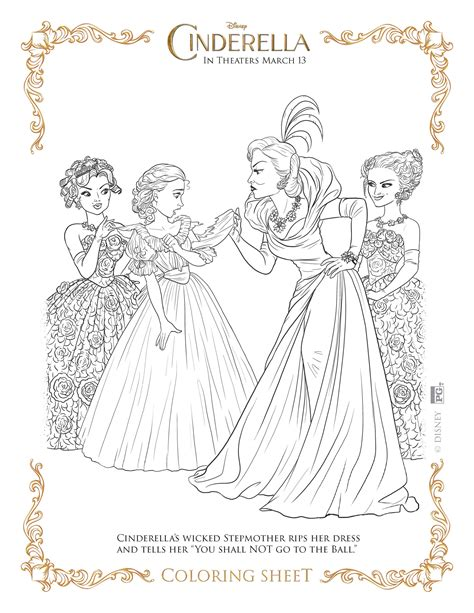 new cinderella coloring pages cinderella coloring pages highlights along the way