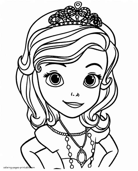 sofia the coloring free sofia coloring pages