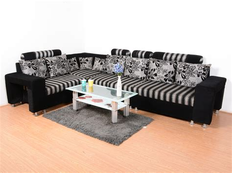 L Shape Sofa Set Online Cly L Shaped Sofa Designs India