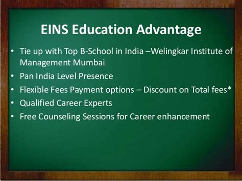Welingkar Cut For Mba by Distance Learning Mba In Media Advertising From Eins
