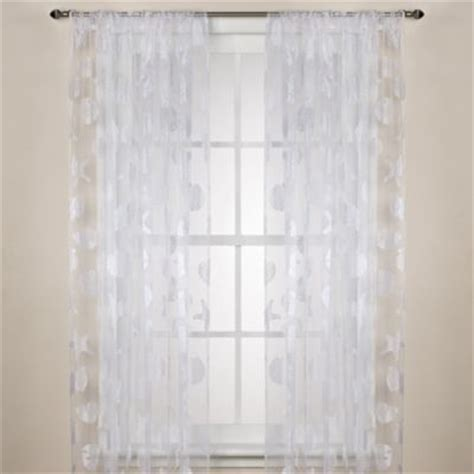 sheer curtains 108 buy crushed voile sheer 108 inch rod pocket window curtain