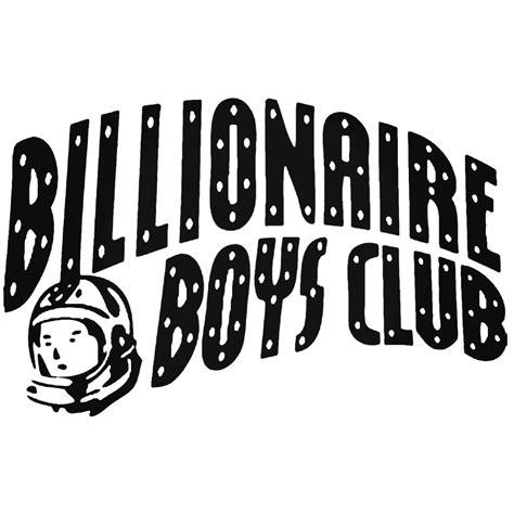 Kaos Anime Boy Billionaire Club billionaire boys club logo decal sticker