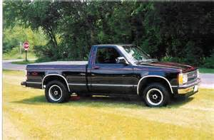 black s 10 1992 chevrolet s10 regular cab specs photos