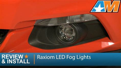 2015 mustang fog lights 2015 2016 mustang raxiom led fog lights clear review