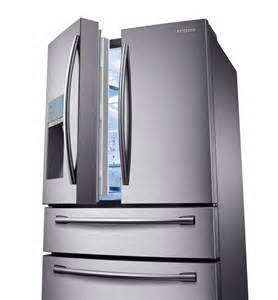 samsung refrigerators door samsung rf31fmesbsr 31 cu ft 4 door