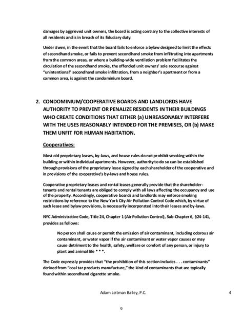 cancellation letter of condo units advising condominiums cooperatives and landlords on