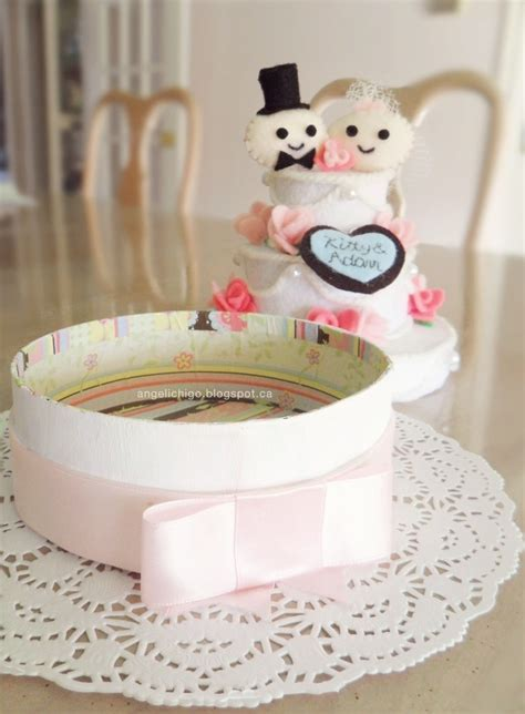 Felt Wedding Cake Gift Box · How To Make A Decoration