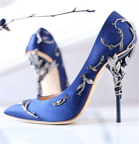 midnight blue shoes high heels in the realm of design see that blue heels aren t