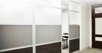 Build Your Own Room Divider - glide sliding room divider from loftwall