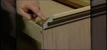 How To Install Molding On Kitchen Cabinets How To Install Crown Molding On Your Cabinets 171 Construction Repair Wonderhowto