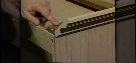 how to install crown molding on your cabinets 171 construction repair wonderhowto