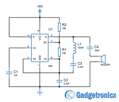 metal detector circuit diagram building a simple metal detector circuit using ic 555 and