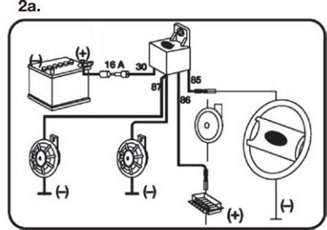 hella supertone horn wiring diagram get free image about