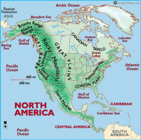 united states map landforms missdtestprepsuccess unit 12 maps and graphs