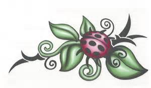 ladybug tribal tattoo tribal ladybug