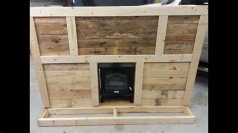 How To Make In A Fireplace by How To Make Fireplace From Pallets Diy How To