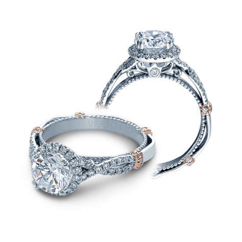 verragio parisian dl106r 18 karat engagement ring tq
