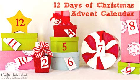 12 days of advent calendar