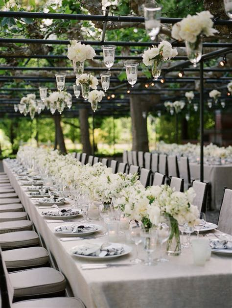 Garden Table Setting Ideas Italian Wedding Ideas The Imperial Table