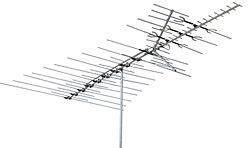 channel master range outdoor digital tv antenna vhf uhf fringe cm3671 ebay
