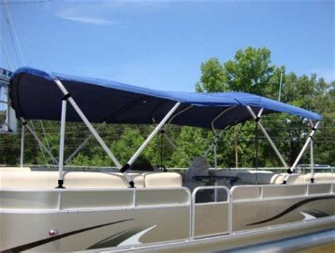 square boat square tube pontoon bimini top