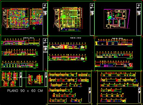 hospital  beds  dwg full project  autocad
