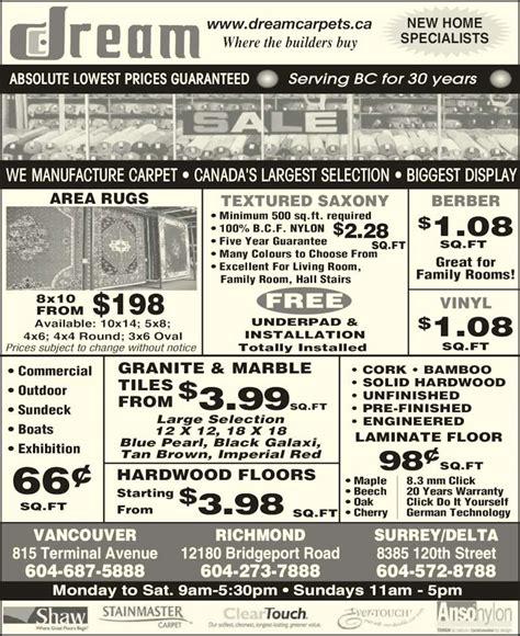 Wherew To Buy Vinyl Flooring Richmond Ca - carpets ltd 8385 120 st delta bc