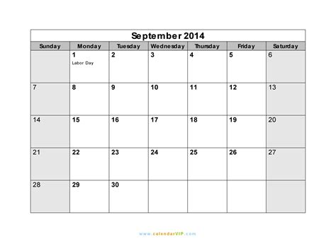 printable monthly planner september 2014 september 2014 calendar printable pdf