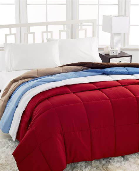 home design down alternative color full queen comforter home design mini stripe down alternative queen comforter