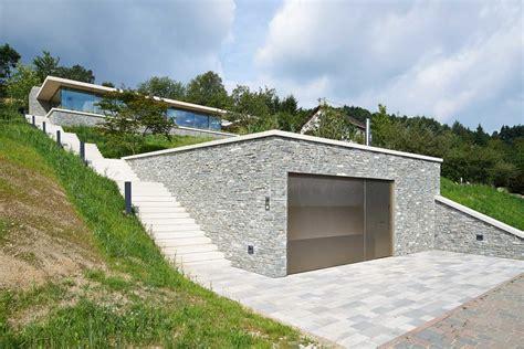 terrasse auf garage rheinblick einfamilienhaus mit rheinblick