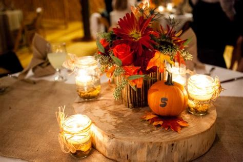 fall themed table decorations 17 best images about wedding fall on