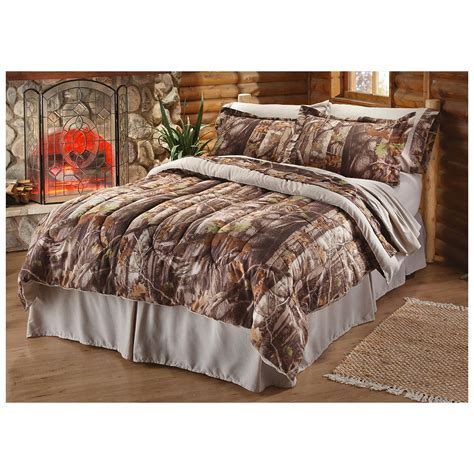 Camouflage Bed Set Castlecreek Next G 1 Camo Bedding Set 227732 Comforters At Sportsman S Guide