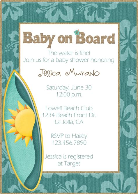 Themed Baby Shower Invitations by Themed Baby Shower Invitation
