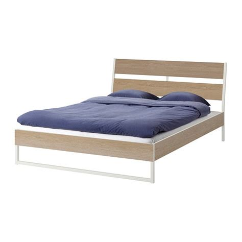 White Ikea Bed Frame Bed Frames Bedroom Furniture Ikea