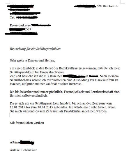 Bewerbungsschreiben Praktikum Krankenhaus Vorlage Bewerbung Um Ein Praktikum Kontrolllesen Beruf Brief